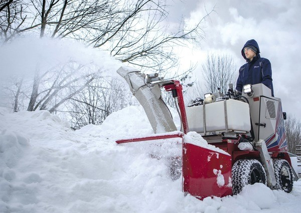 Ventrac SSV with Snow Blower